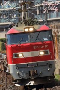 配6551レ(=EF510-20牽引)