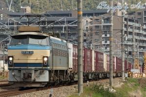 1083レ(=EF66-30牽引)