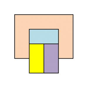 四色目が必要になる領域を追加してみた