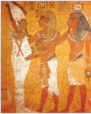 ツタンカーメンの墓 オシリス神