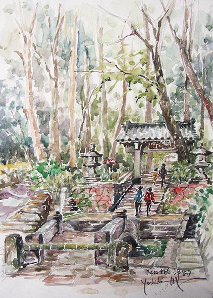 鎌倉浄智寺で