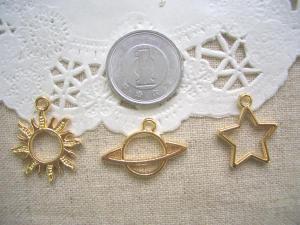 カラワク:太陽、土星、星