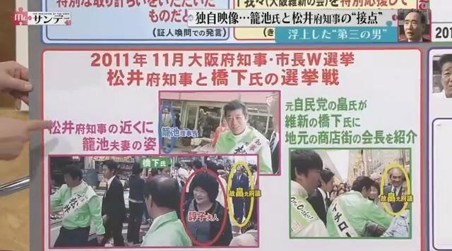 ⑲籠池と橋下と松井と畠成章は選挙で一緒に練り歩いていた!
