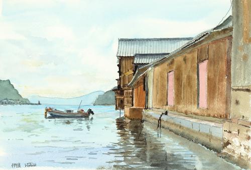 伊根の舟屋4