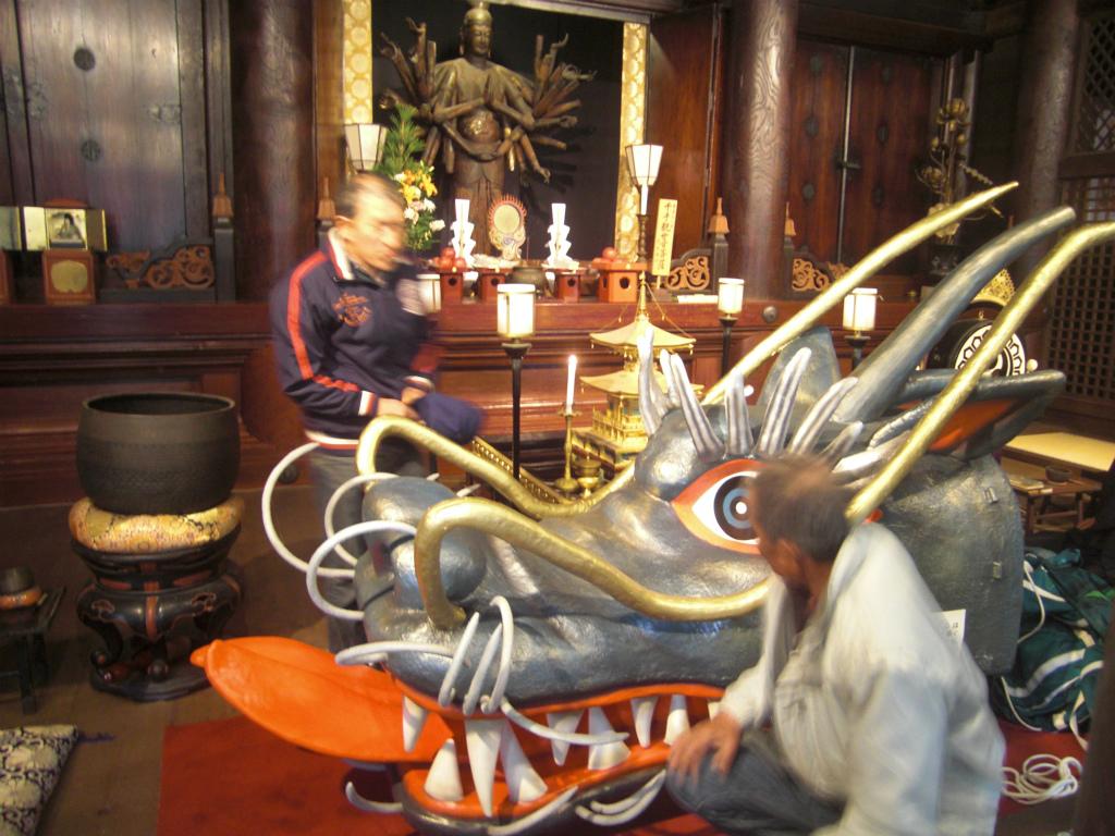 道成寺の竜
