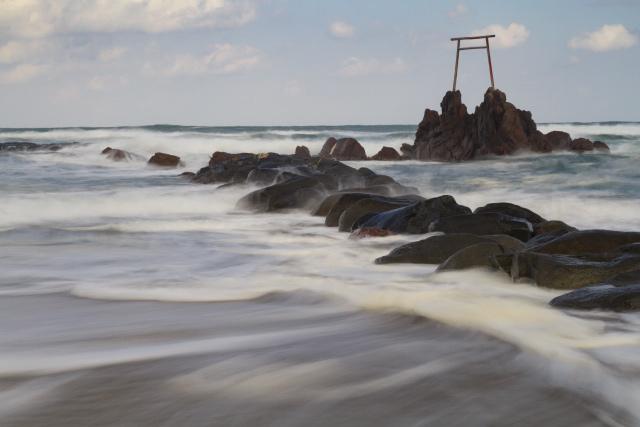 倉吉 琴浦町 はわい温泉 はわい海岸
