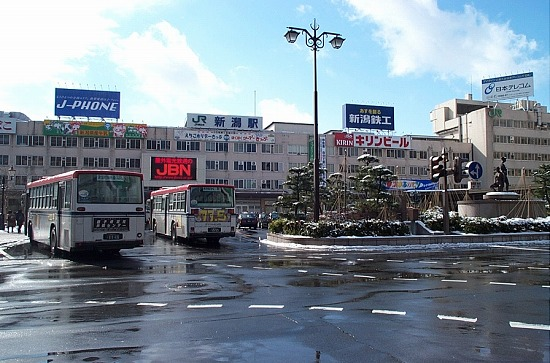 3月の新潟駅