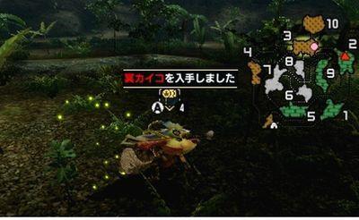 【モンハンダブルクロス】 冥カイコ 入手方法 入手場所【MHXX 攻略】
