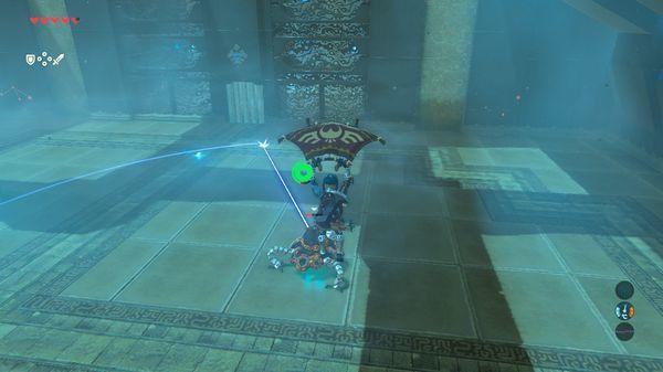 【ゼルダの伝説 ブレスオブザワイルド】 力の試練 序位 『サオ・コヒの祠』小型ガーディアン(序位) 倒し方【BotW 攻略】