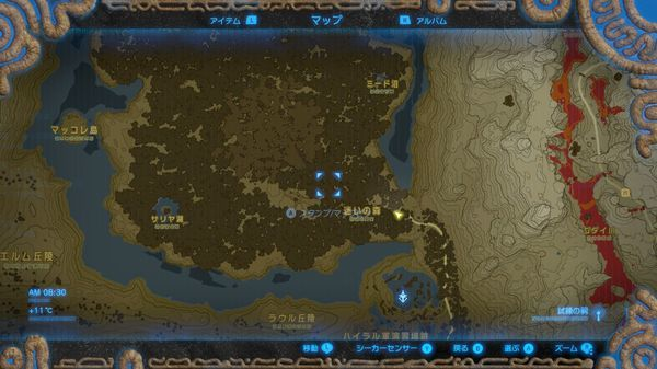 【ゼルダの伝説 ブレスオブザワイルド】 迷いの森 抜け方 進み方 正解ルート【BotW 攻略】