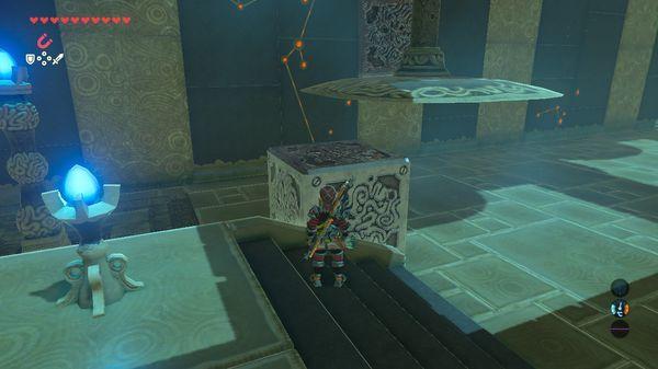 【ゼルダの伝説 ブレスオブザワイルド】 釣り合う力 『キュ・ラムヒの祠』 進み方 【BotW 攻略】