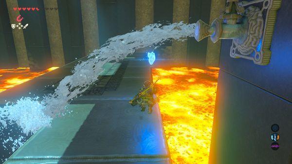 【ゼルダの伝説 ブレスオブザワイルド】 青き炎 『ショラ・ハの祠』 進み方 【BotW 攻略】