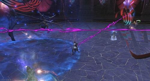 ダンスカー中ボス3影の手紫