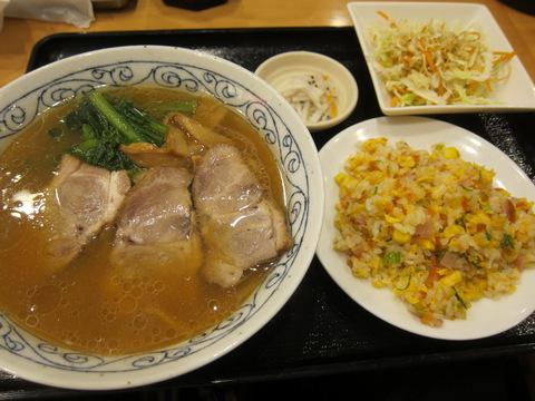 長安(チャーシュー麺セット)