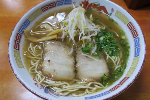 東陽軒(醤油ラーメン)