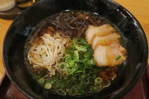 りゅう(中華そば・魚介ベース醤油)