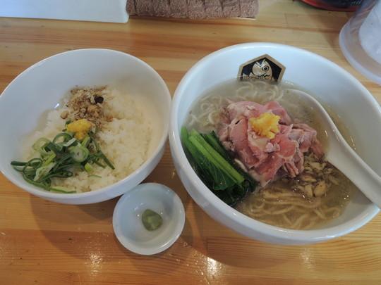真鯛らーめん雑炊セット(1000円)