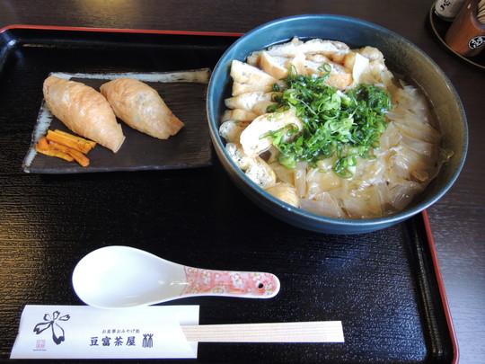豆腐ラーメン膳(1080円)