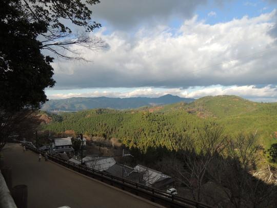 吉野山からの景色