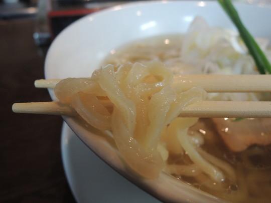 イリコ塩の麺