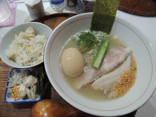 日より藻塩+鯛めし(スープ茶漬けセット)