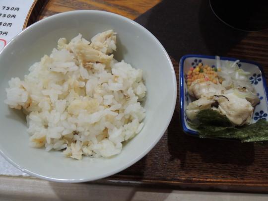 鯛めし(スープ茶漬けセット)(250円)