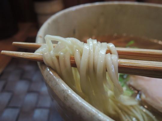 汐そばの麺