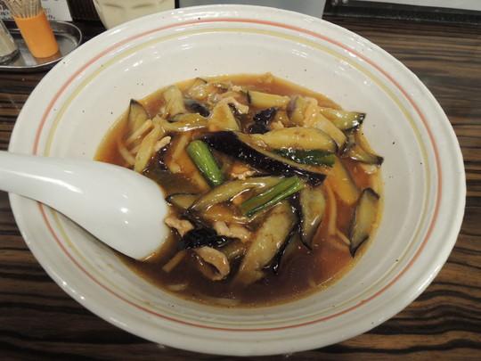 五香茄子湯麺(ウーシャン麺)(880円)