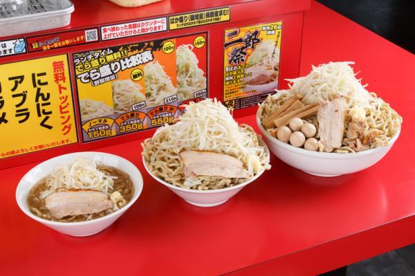 【画像あり】名古屋の二郎インスパイアの「麺屋 あっ晴れ」 お前らはこのでら盛りが食えるか!?