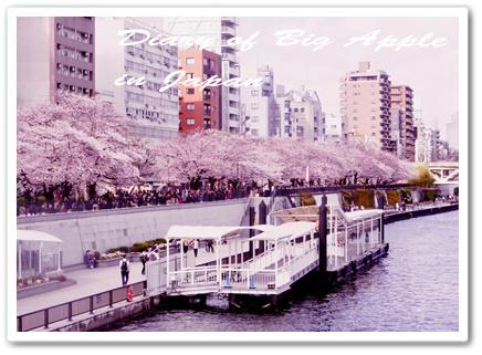隅田川の遊覧船
