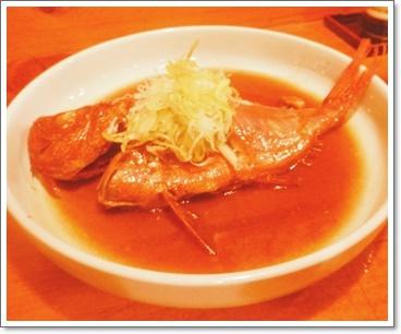 金目鯛の煮物