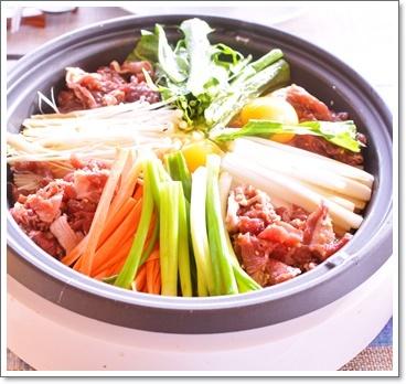 韓国のすき焼き