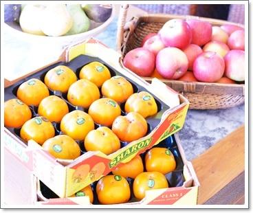 柿も沢山~~