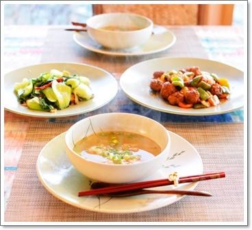野菜の整理で中華