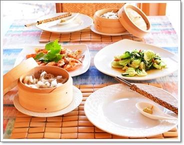 夕飯は中華1