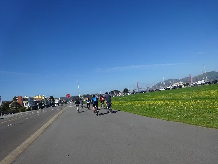 金門橋サイクリングロードから