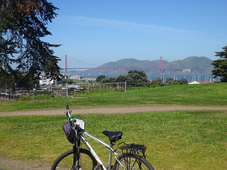 公園から金門橋