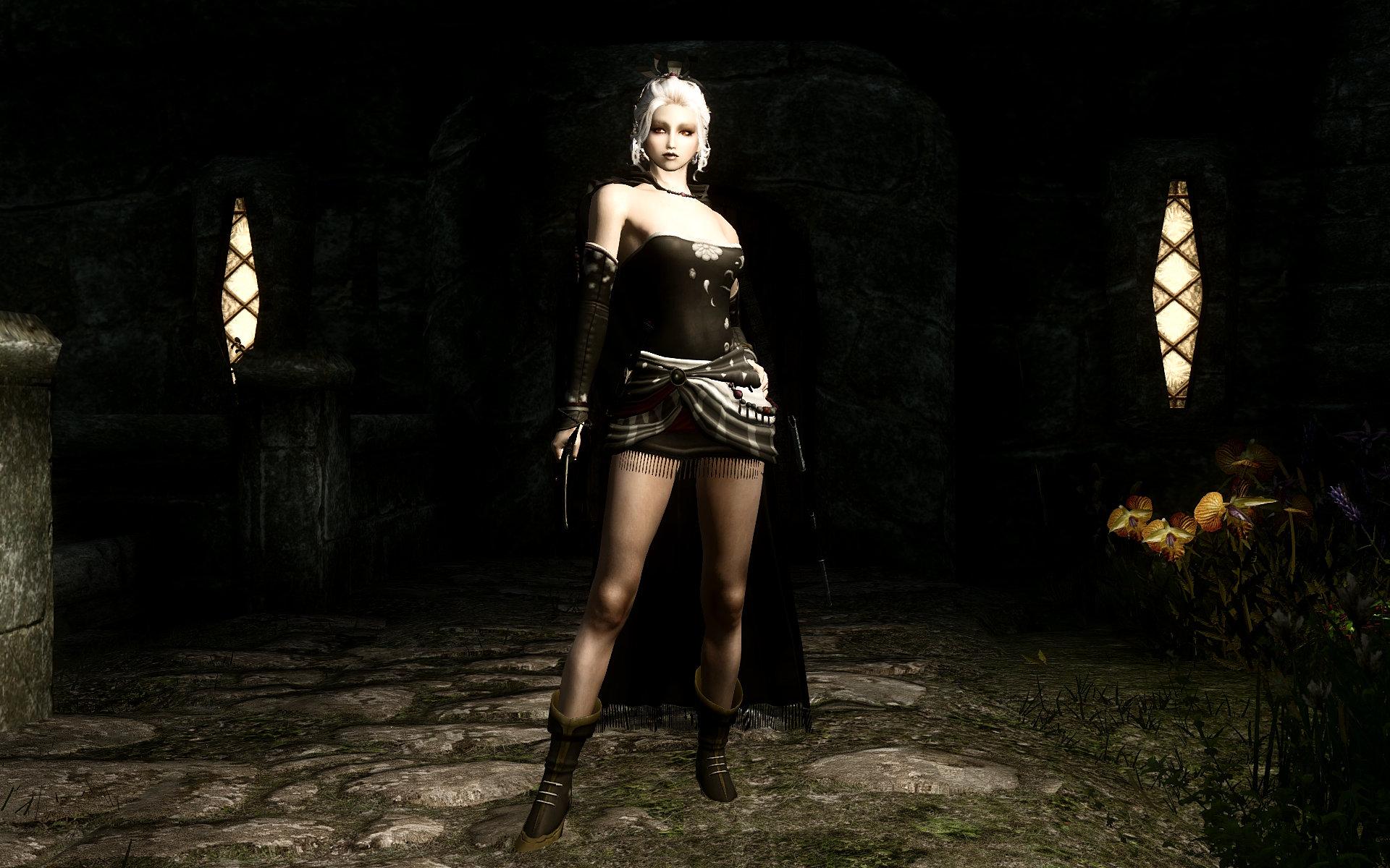 FF6 Tina(Terra) Outfit Black