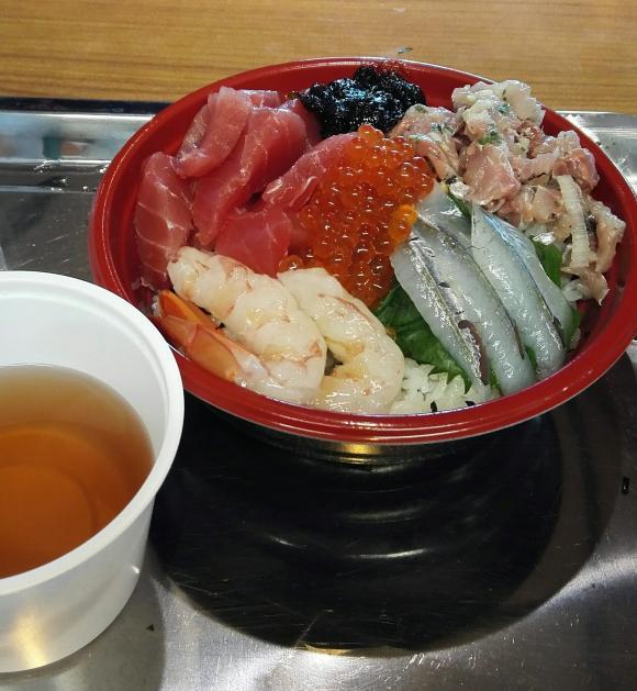 日立おさかなセンター 味勝手丼 海鮮丼
