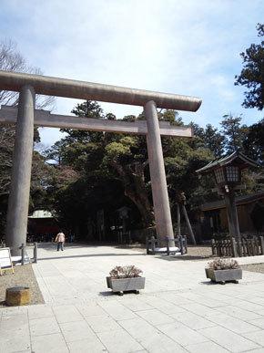 茨城県 鹿島神宮 鳥居