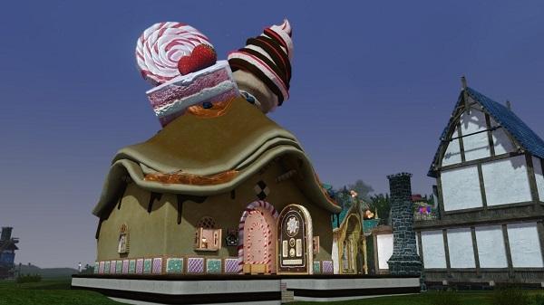 3月30日近所にお菓子の家が