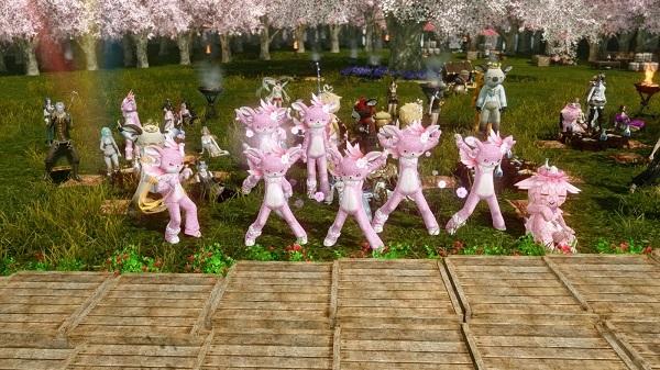 4月23日お花見イベントヤターズ