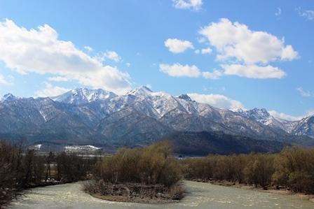 芦別岳 4月
