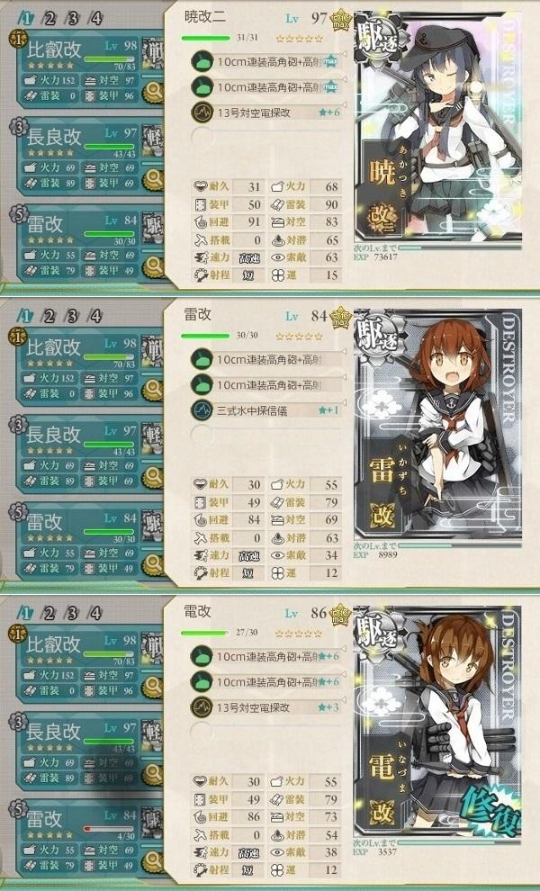海上突入部隊、進発せよ! 編成2