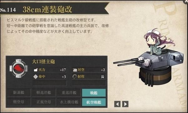 38cm連装砲改