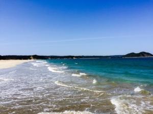 種子島の砂浜〜