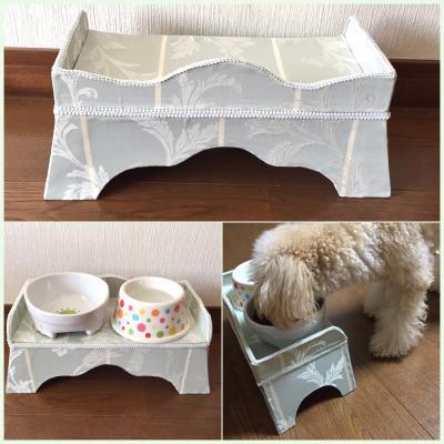 犬の餌台 (1)
