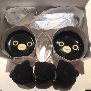 20170218-Suica のペンギン チョコレートプリン (4)