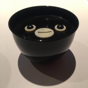 20170218-Suica のペンギン チョコレートプリン (10)