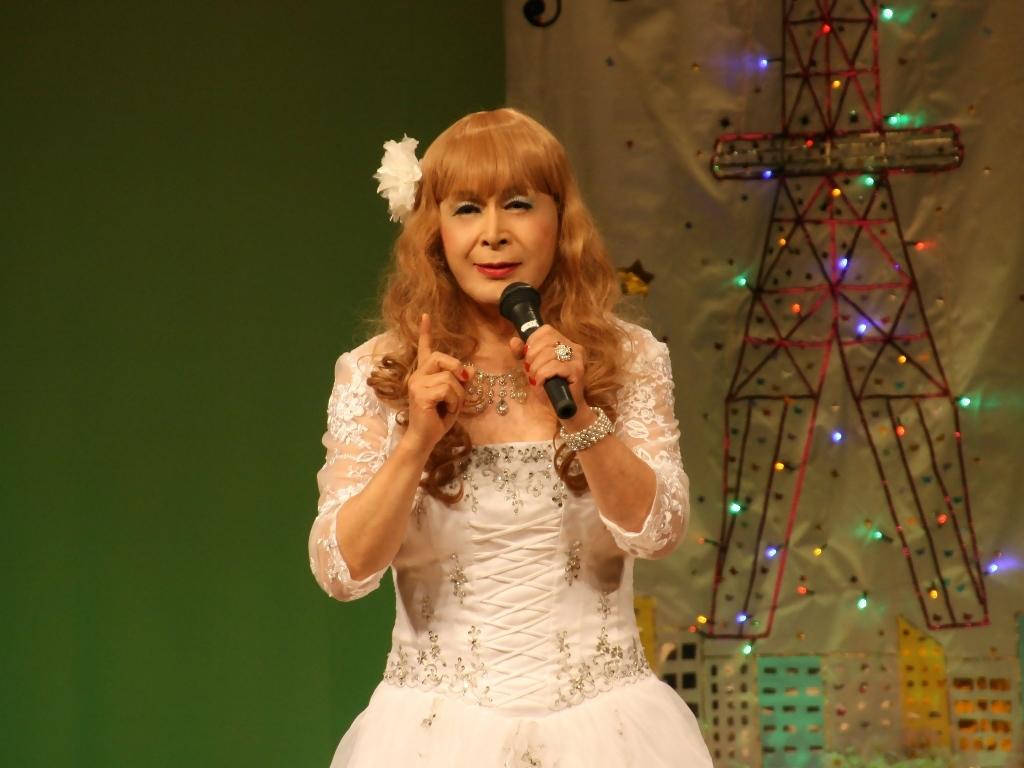 白ドレス舞台おんな炎A(6)